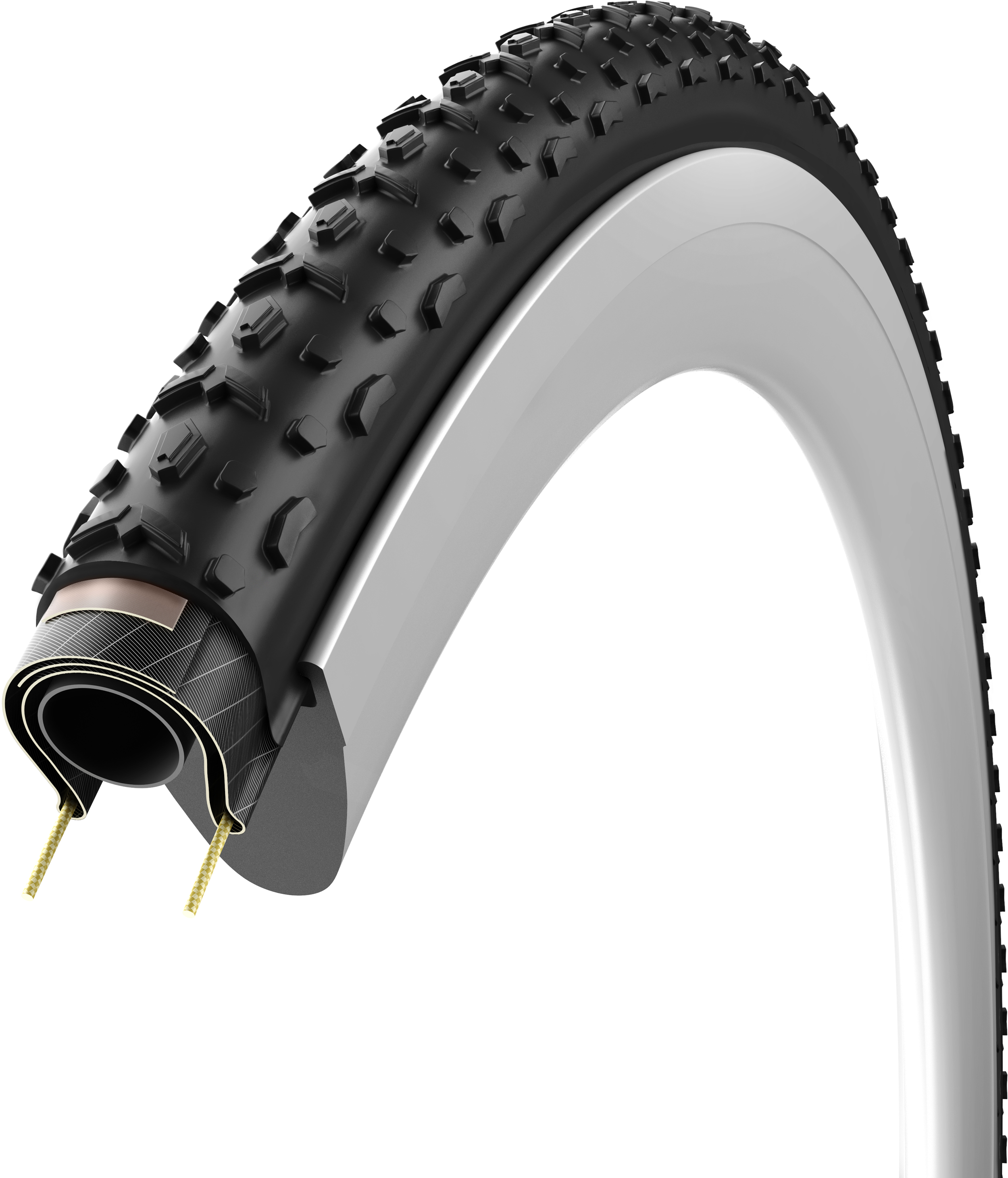 New Vittoria Cross XG Pro II Tire  Folding Clincher 700 x 31 Black CX Cyclocross