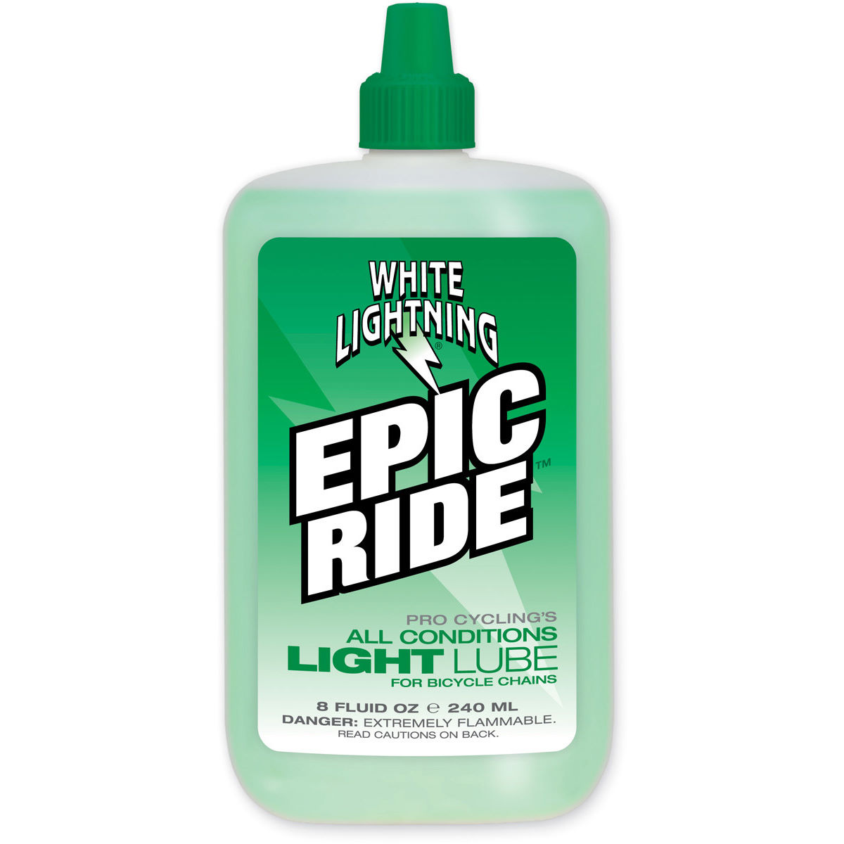 Image of Lubrifiant White Lightning Epic Ride (240 ml) - 240ml Vert
