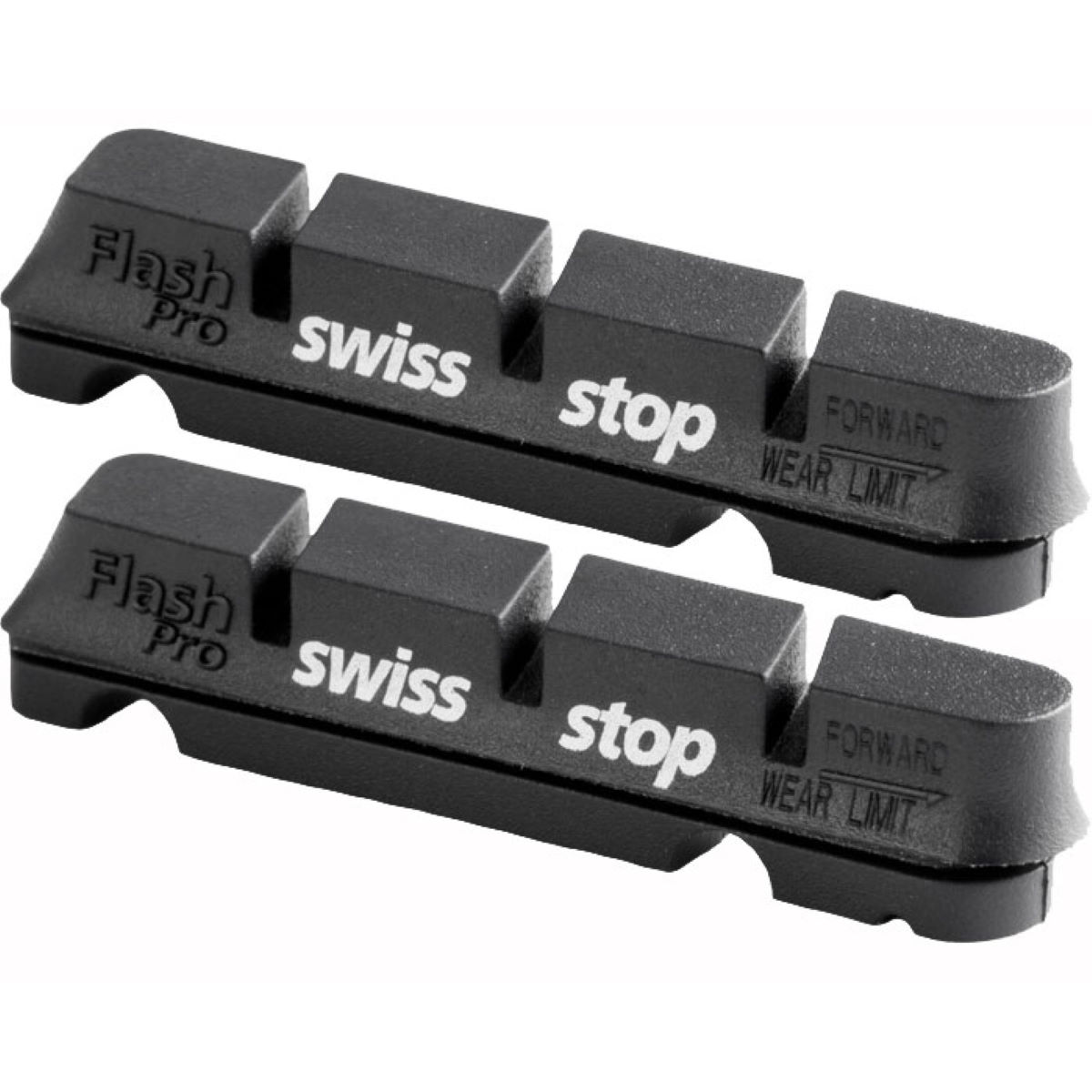 Swissstop Flash Pro Black Alloy Rim Brake Pads