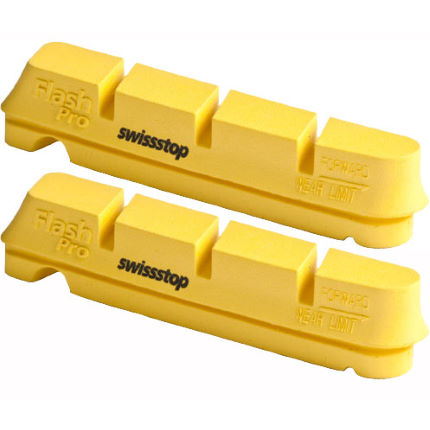 Swissstop Flash Pro Yellow Carbon Rim Brake Pads