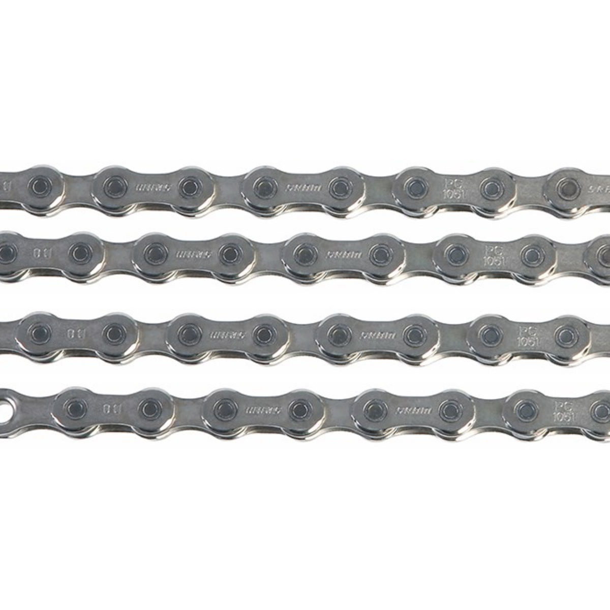 Sram Pc1051 10 Speed Chain With Powerlock - 114 Links Silver  Chains
