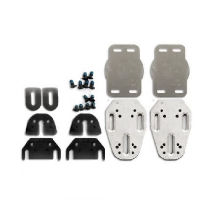 Speedplay Aluminium Fore-Aft Extender Base Plate Kit | Pedal cleats