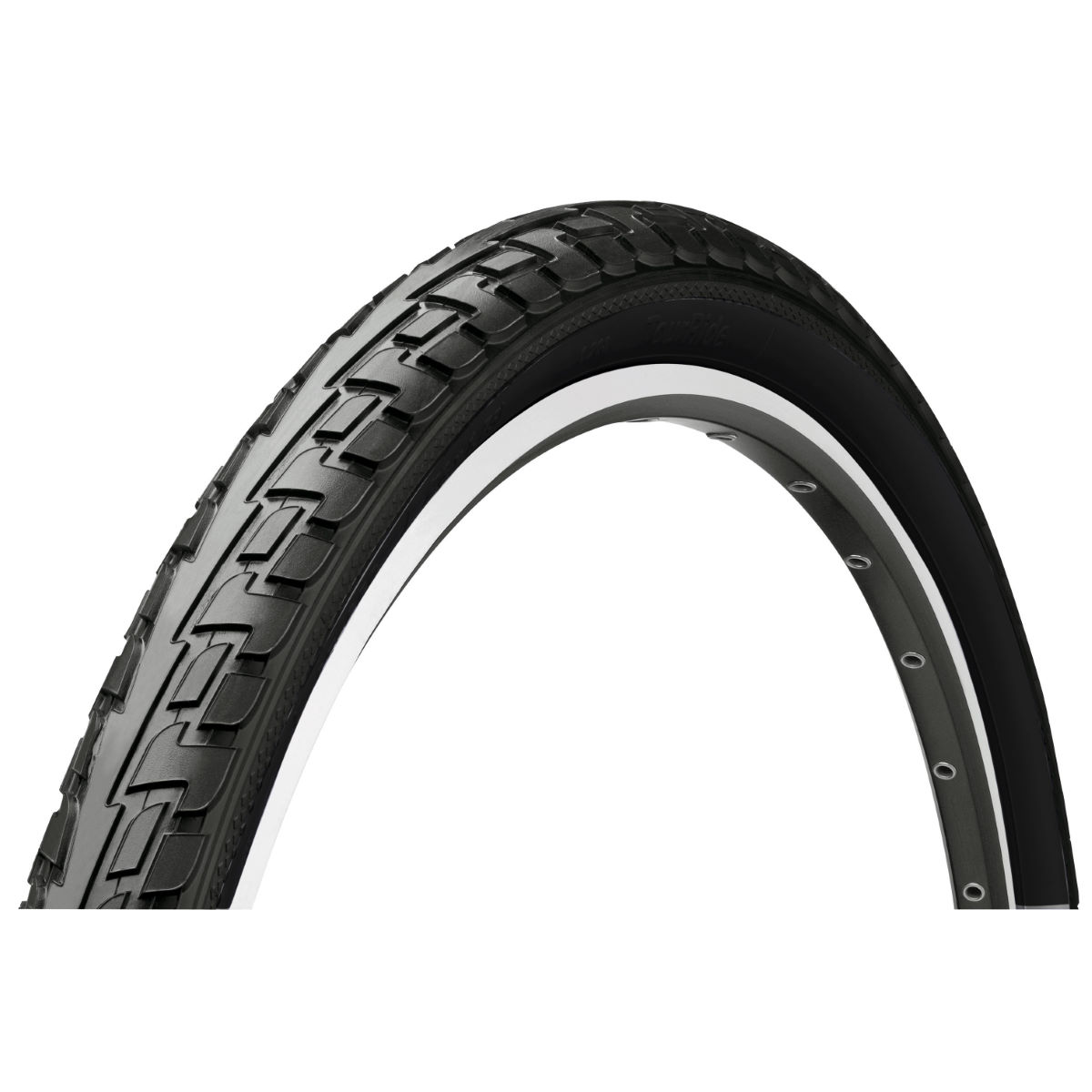 Continental tourride city road tyre hybrid and touring tyres black tyc00222