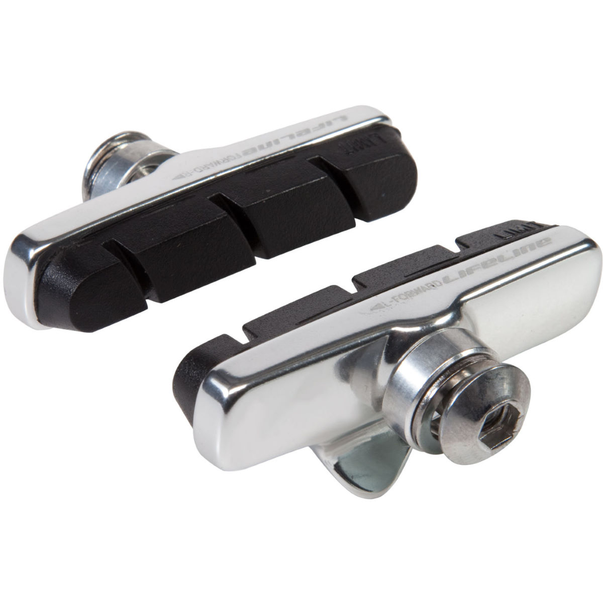 LifeLine Essential Road Brake Holders and Inserts - 4 Pack