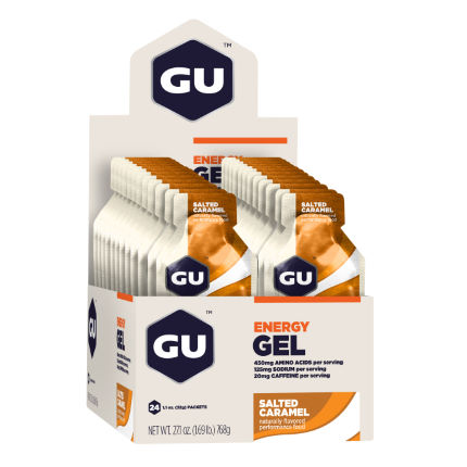 GU Energy Gels With Caffeine (24 x 32g)