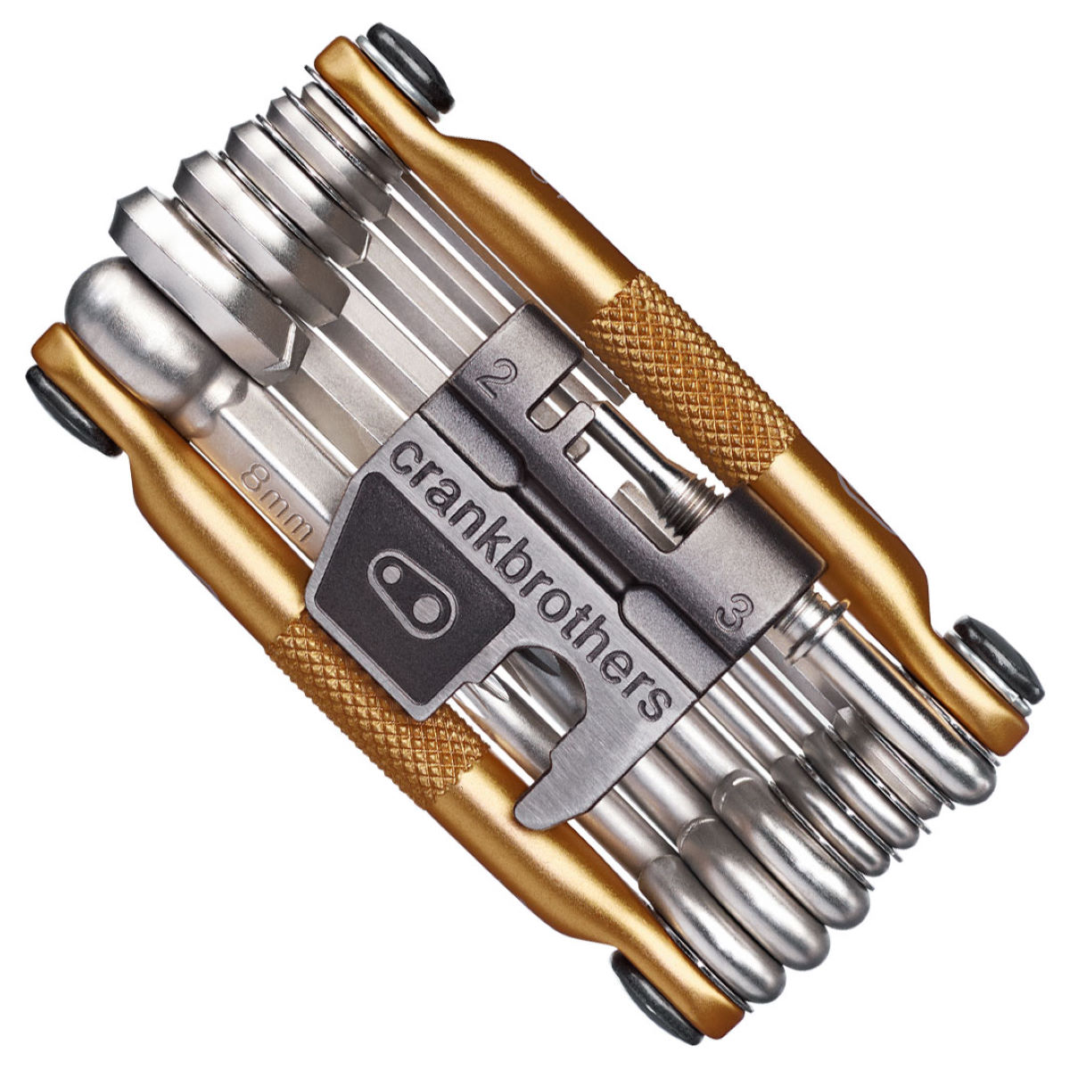 Image of Crank Brothers 19 Function Multi Tool (Gold) Multi Tools