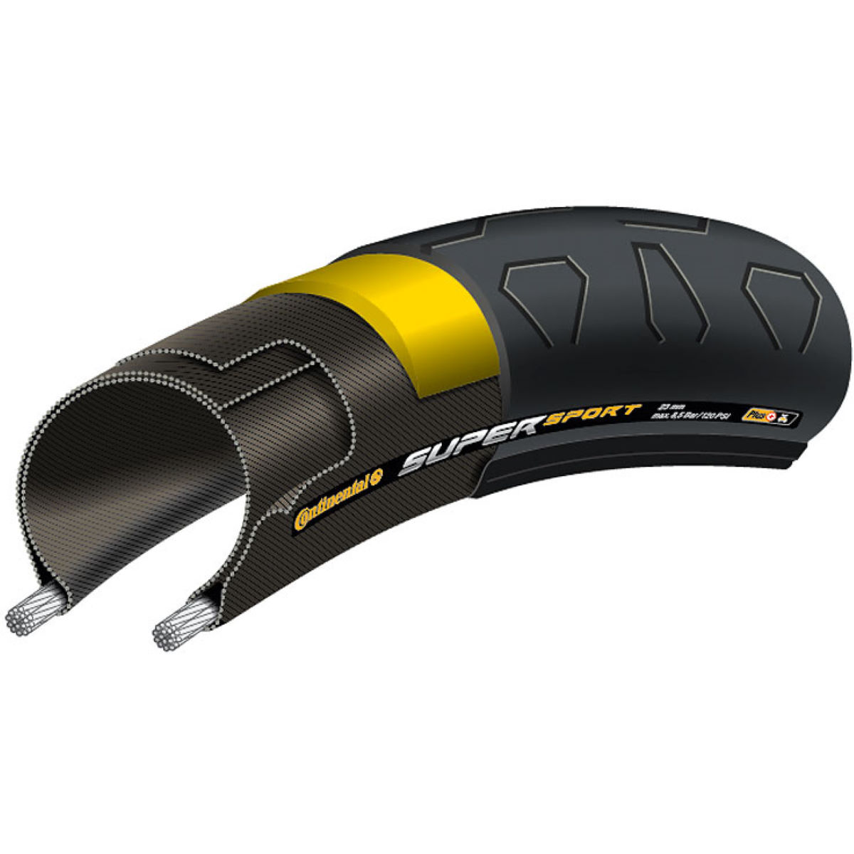 Cubierta plegable de carretera Continental SuperSport Plus - Cubiertas para carretera