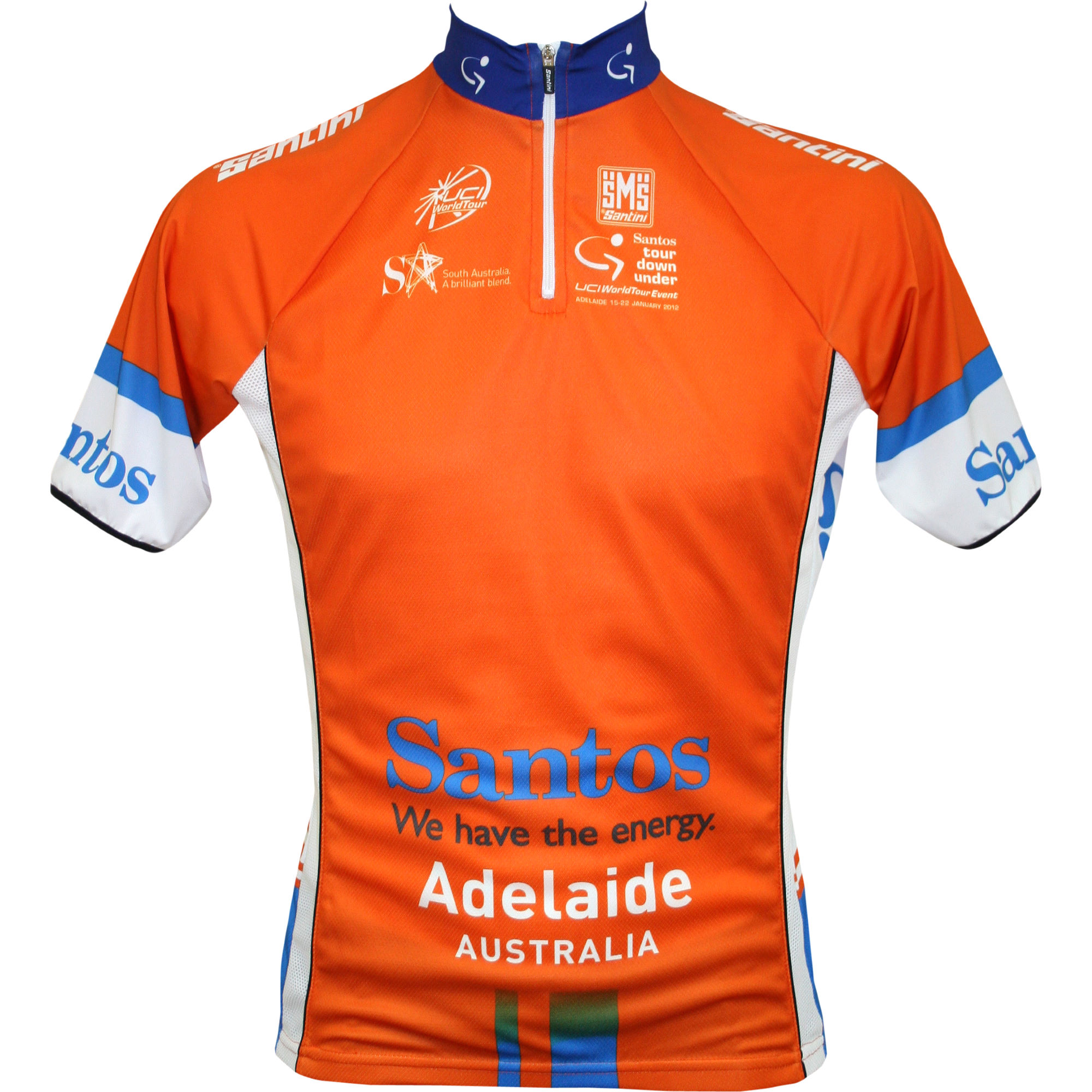 Santini - Tour Down Under Leaders ジャージ - 2012