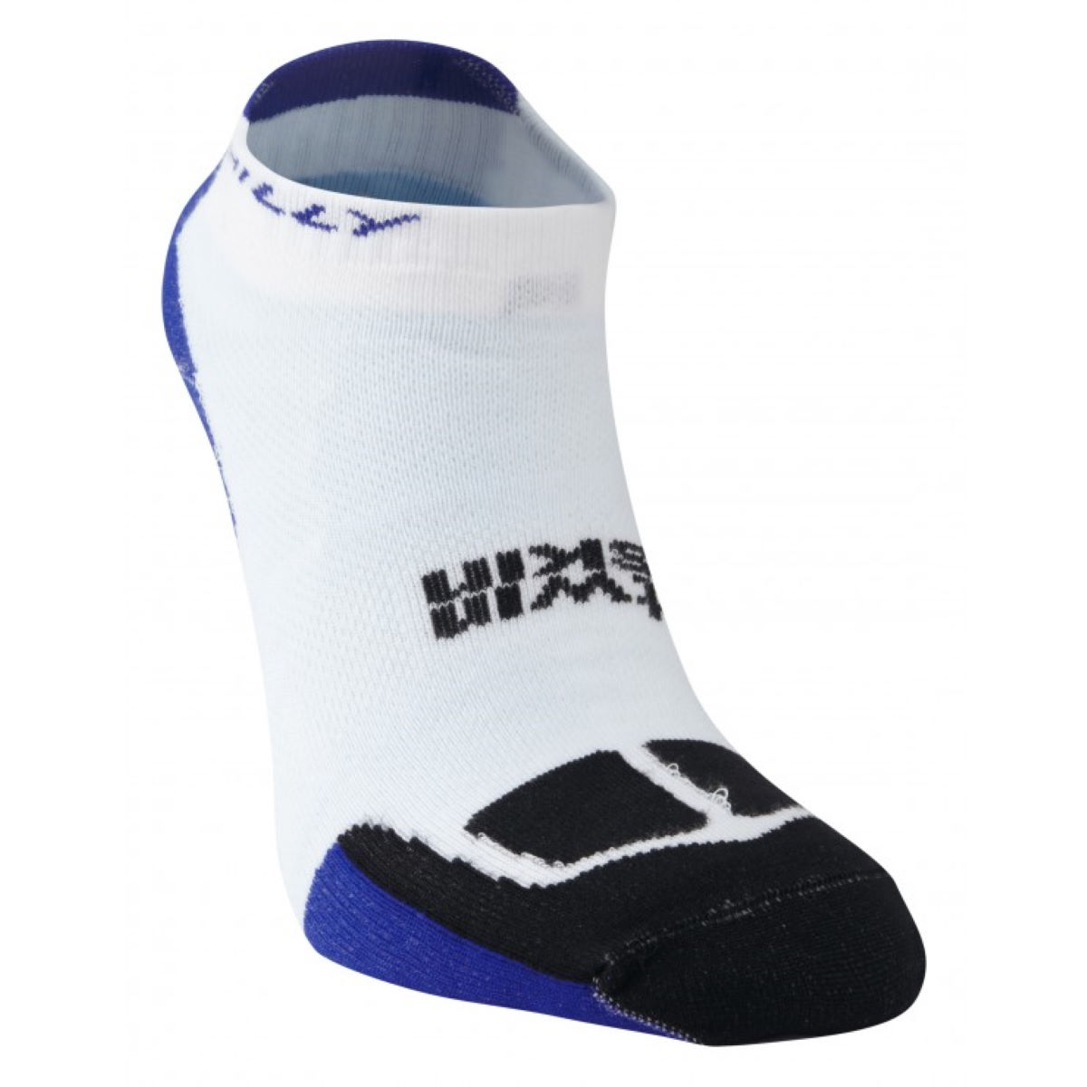 Chaussettes Hilly TwinSkin - M White/Blue/Black  Chaussettes