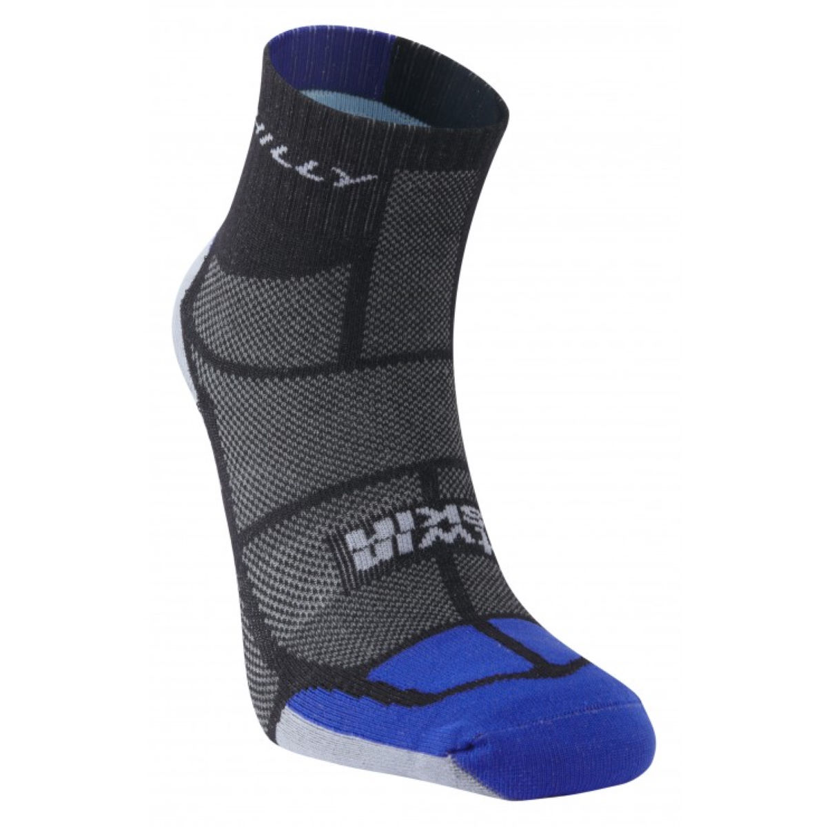 Chaussettes Hilly Twin Skin PE14 - M Black/Blue/Grey  Chaussettes