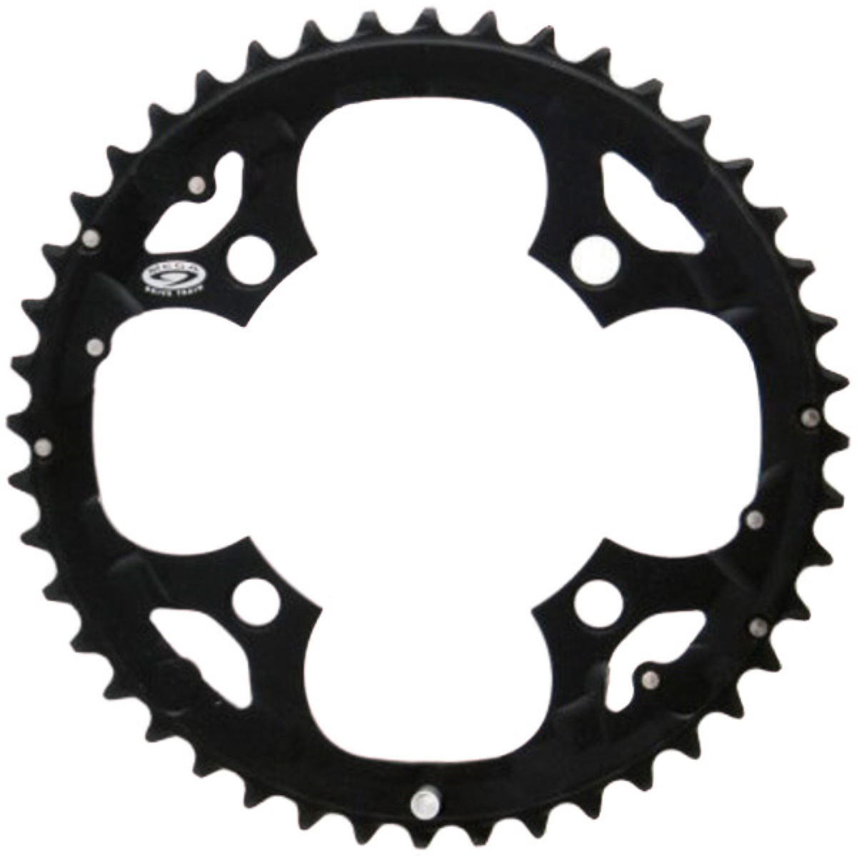 Shimano Deore Fcm590 9 Speed Triple Chainrings - 36t 9 Speed Black
