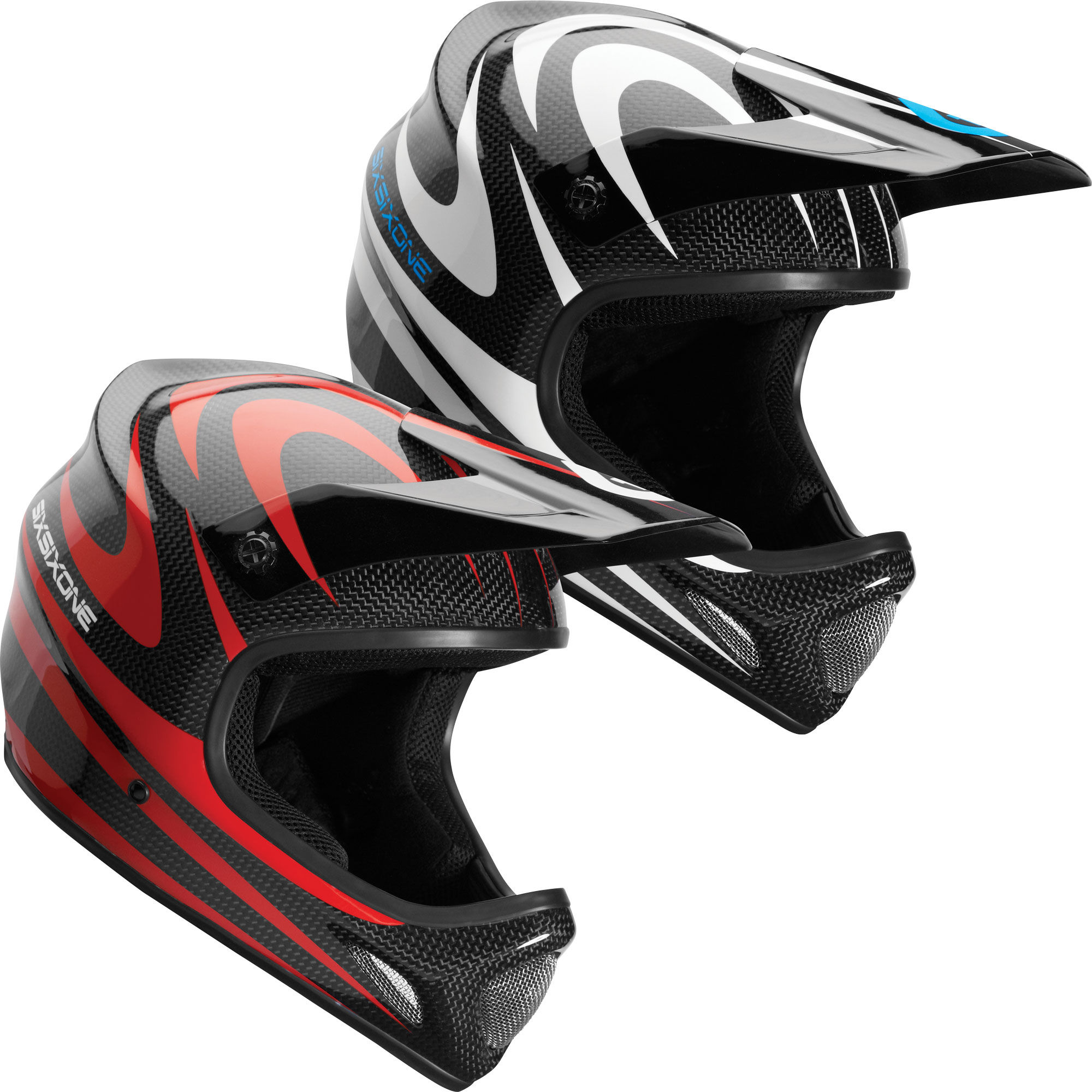 wiggle sixsixone evo carbon full face helmet 2012. Black Bedroom Furniture Sets. Home Design Ideas