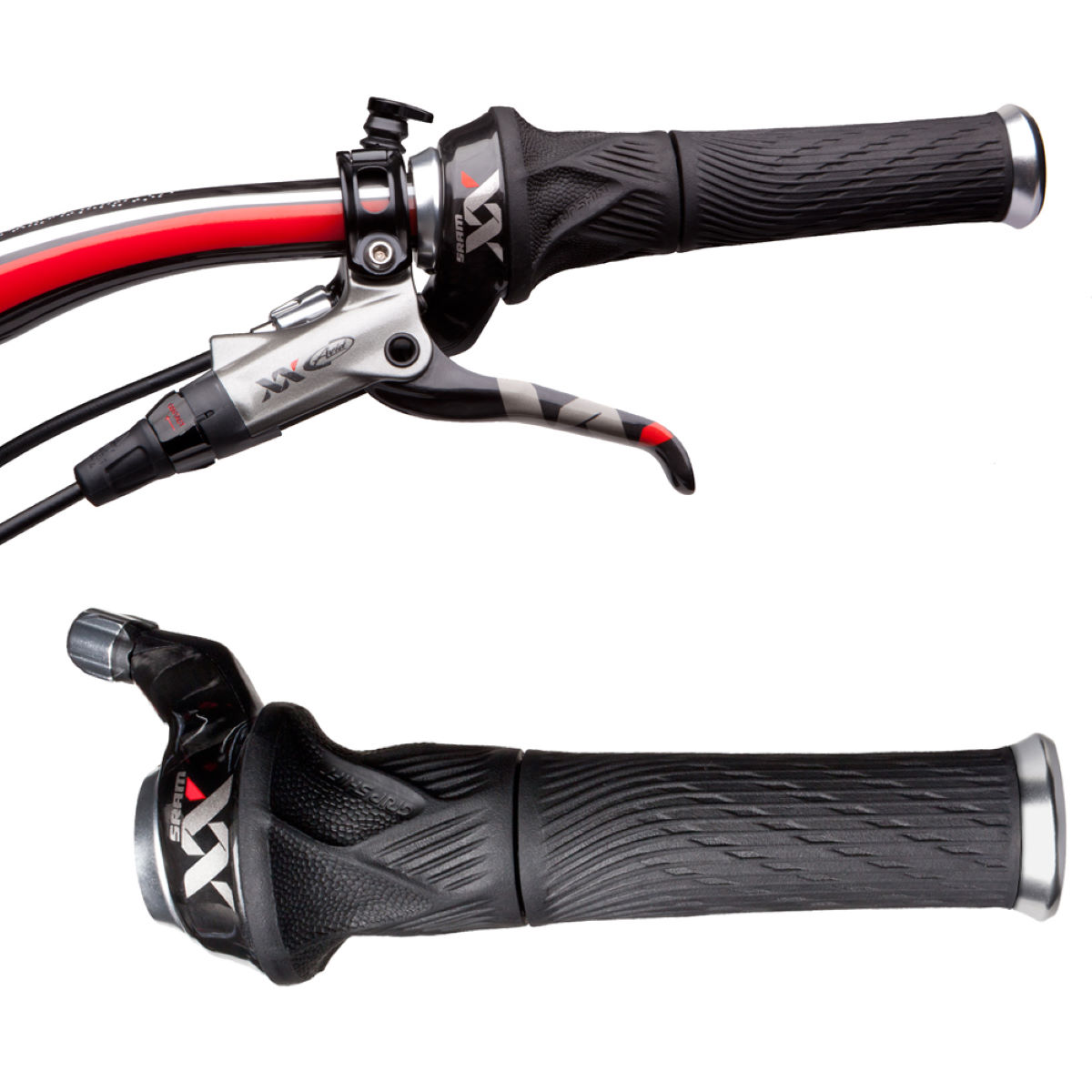 SRAM XX Grip Shift Set (2x10) with Lock-On Grips Gear Levers & Shifters Review