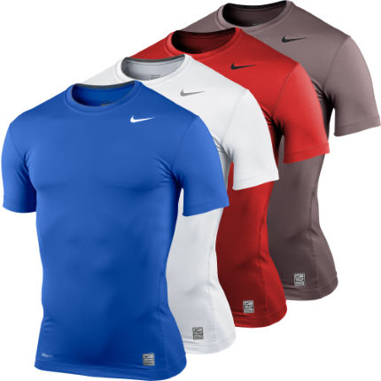 Desviarse Desafortunadamente estafa  wiggle.com | Nike Pro Core Short Sleeve Tight Compression Crew AW12 |  Internal