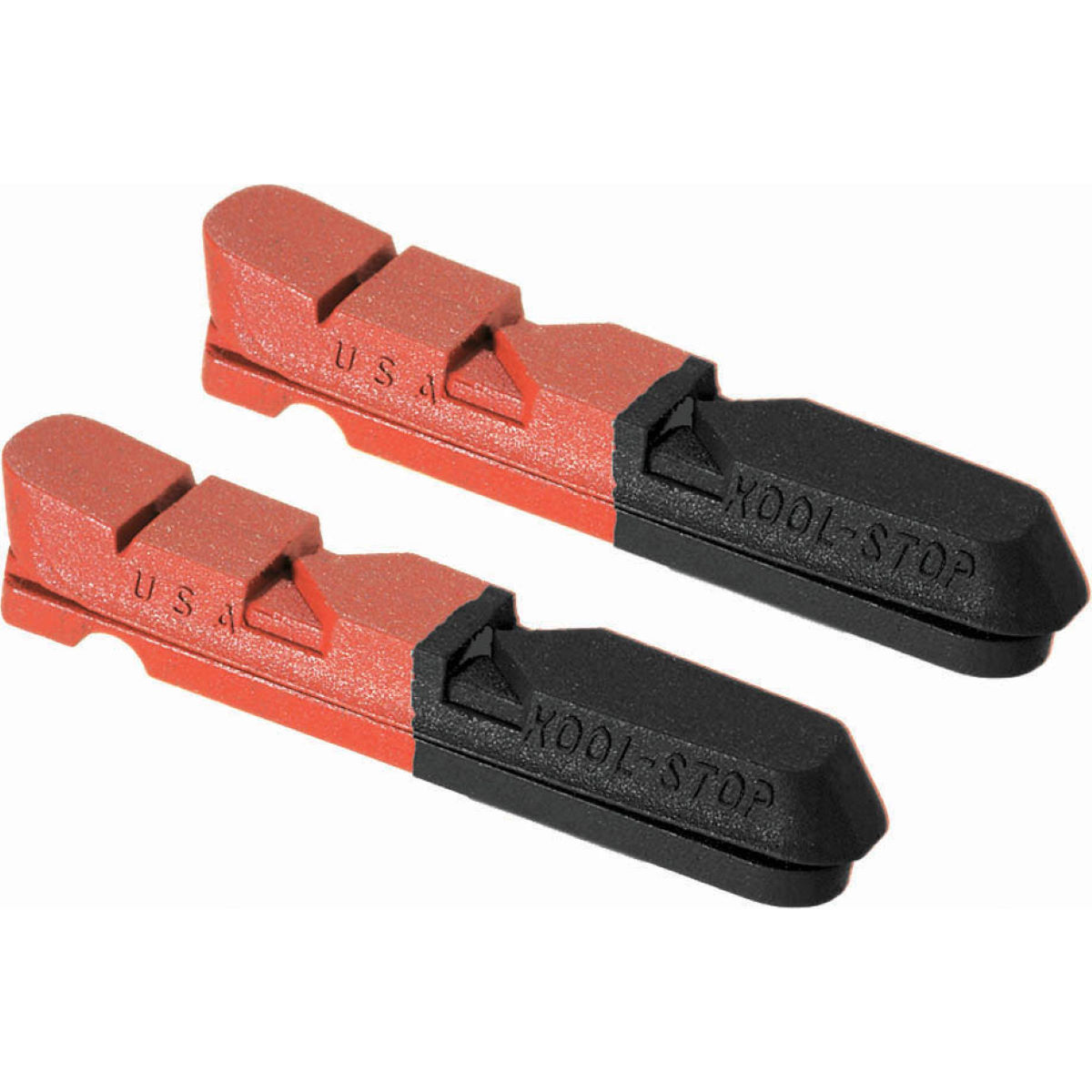 Kool Stop Kool Stop Dura Pair Of Cartridge Inserts Dual Compound   Rim Brake Pads