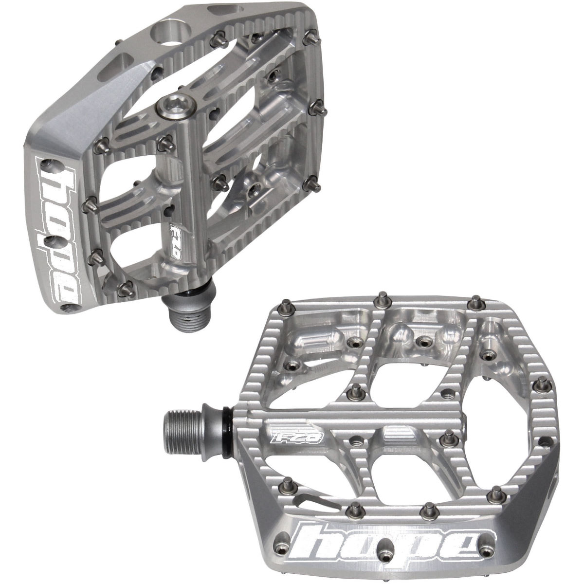 Hope F20 Pedals - One Size Silver  Flat Pedals