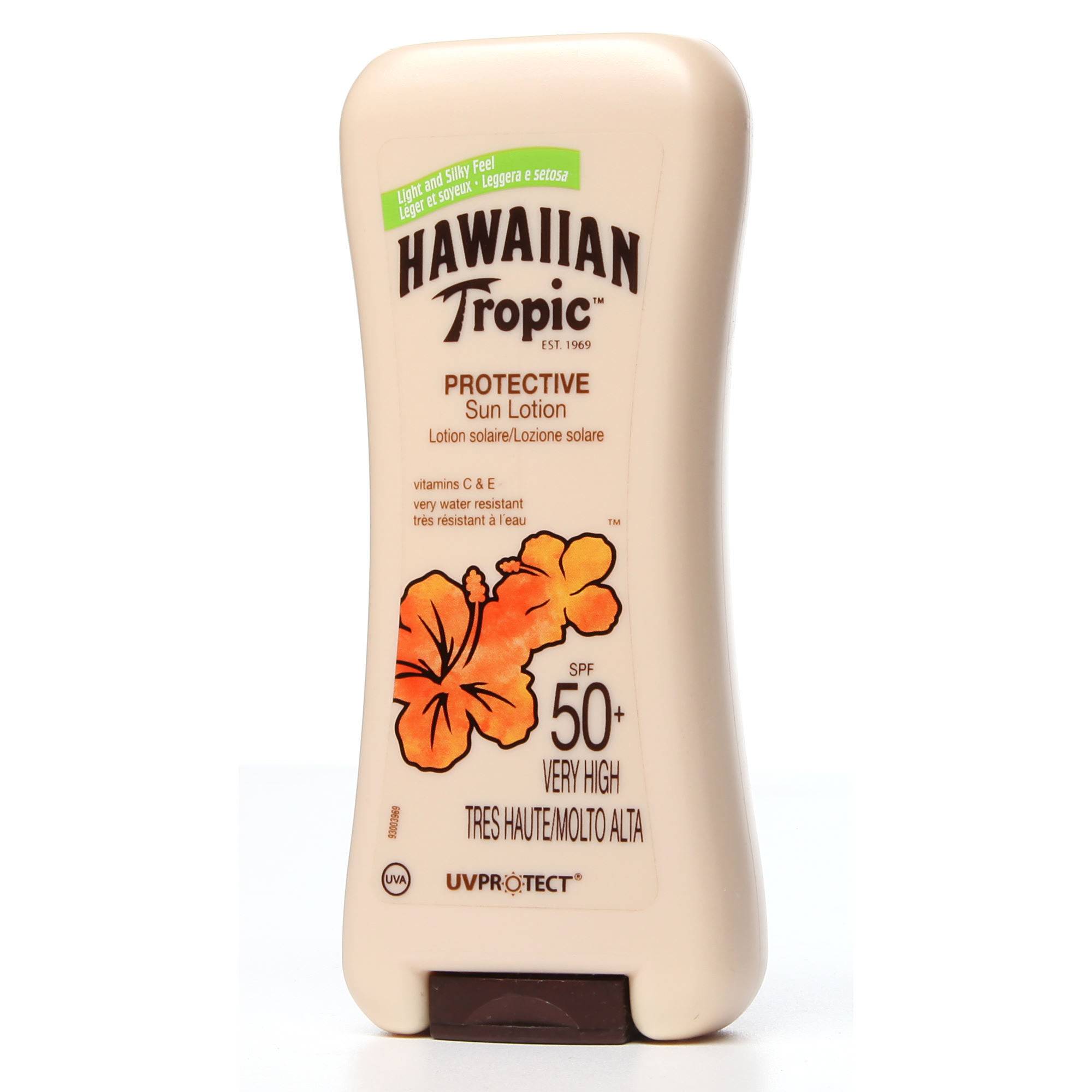 protection solaire hawaiian tropic protective sun lotion spf50 200ml wiggle france. Black Bedroom Furniture Sets. Home Design Ideas