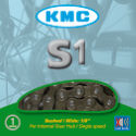 KMC S1 Brown 1/8 Chain with 112 Links