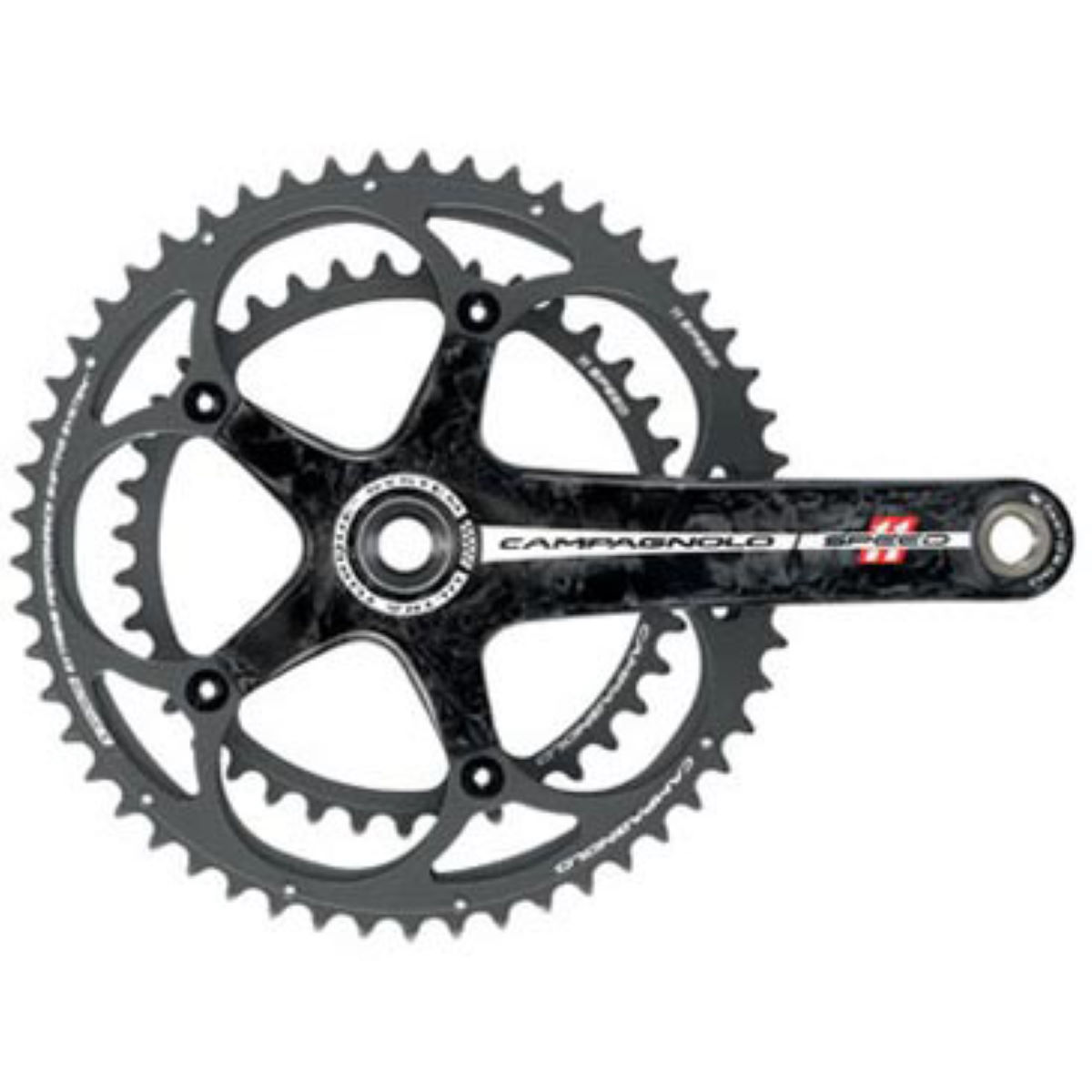 Campagnolo Ultra-Torque 165mm 11 Speed Carbon Chainset