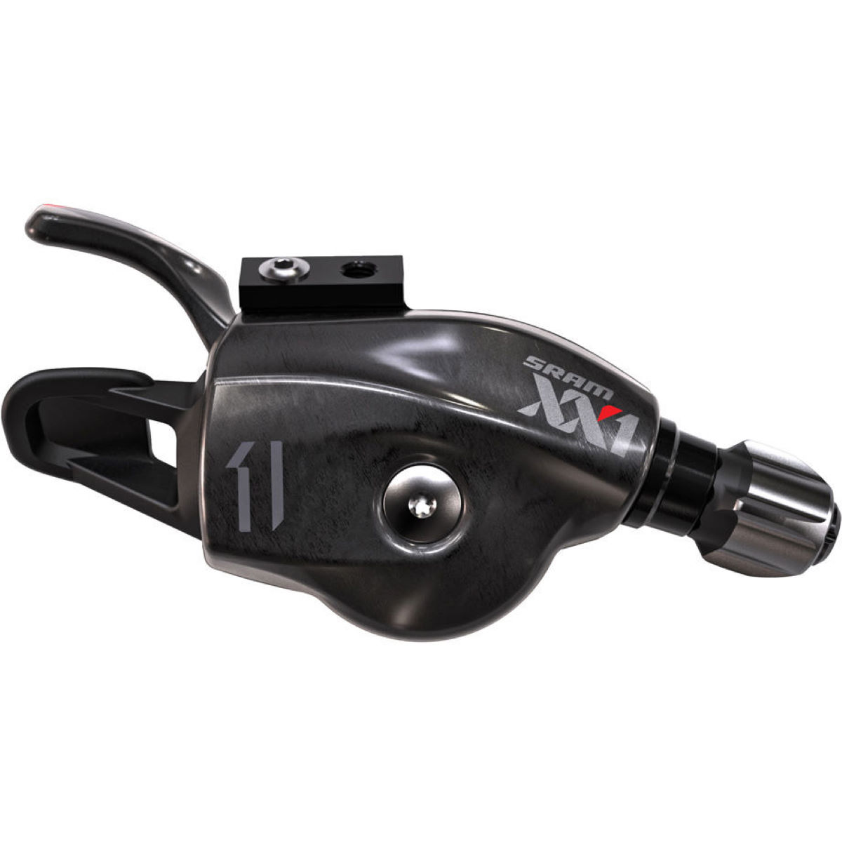 SRAM SRAM XX1 11 Speed Shifter with Discrete Clamp:Black 2:1   Gear Levers
