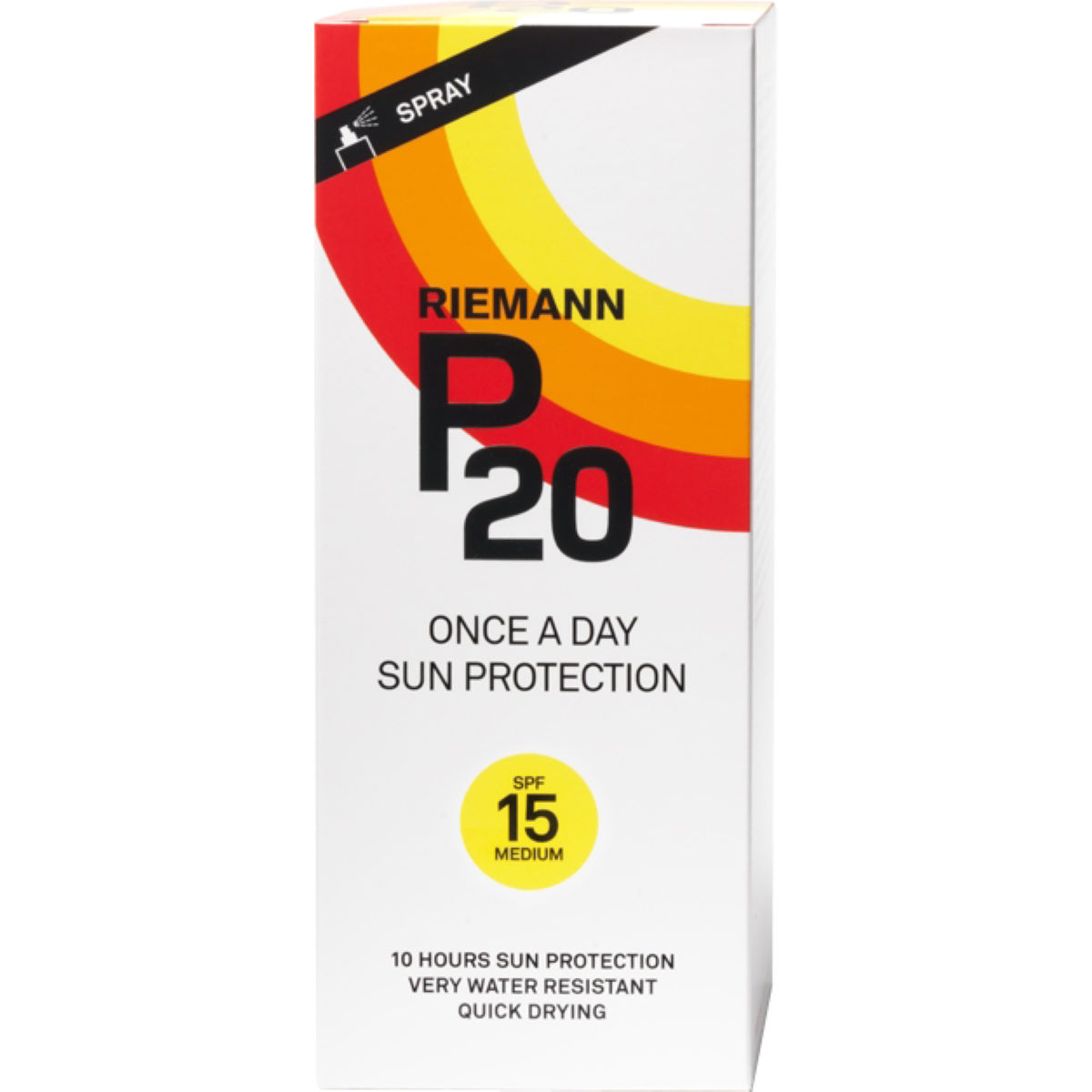 Image of Spray de protection solaire P20 (indice 15, 200 ml) - 200ml