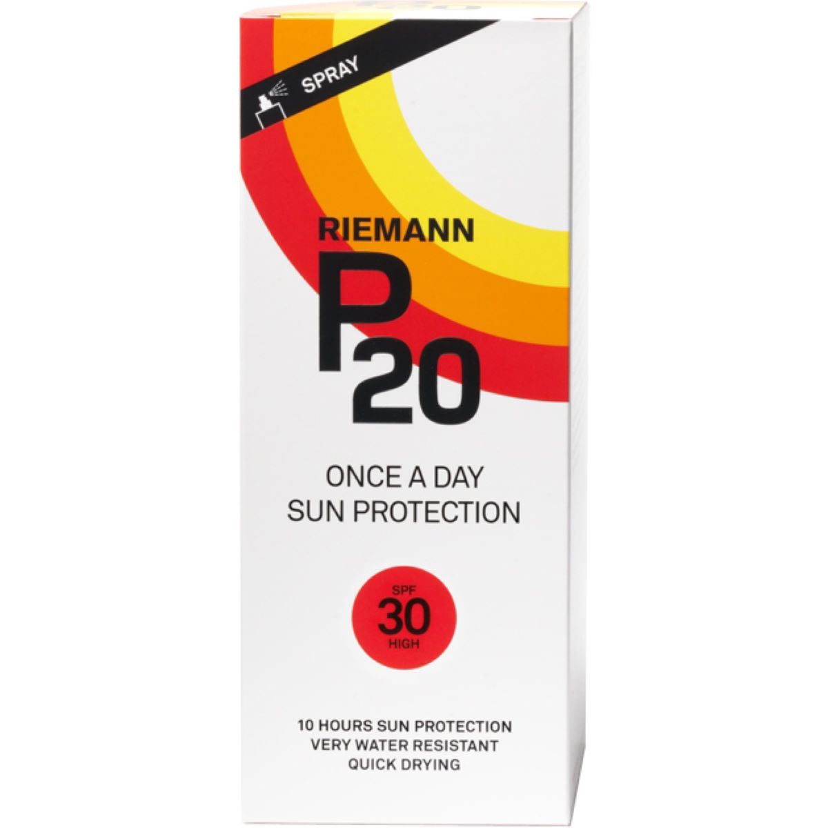 Image of Spray de protection solaire P20 Once A Day Indice 30 (200 ml) - 200ml