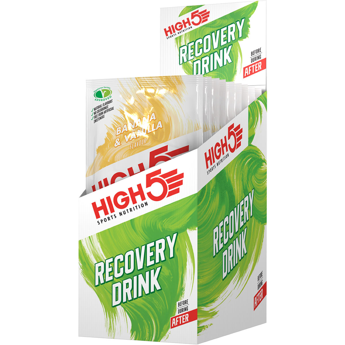 HIGH5 HIGH5 Recovery Drink (9 x 60g)   Powdered Drinks