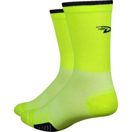 "DeFeet Cyclismo Hi-Vis 5"" Socks"
