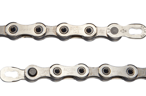 SRAM PowerChain PC-1170 Hollow Pin 11-Speed Chain w// PowerLock 114 Links Silver