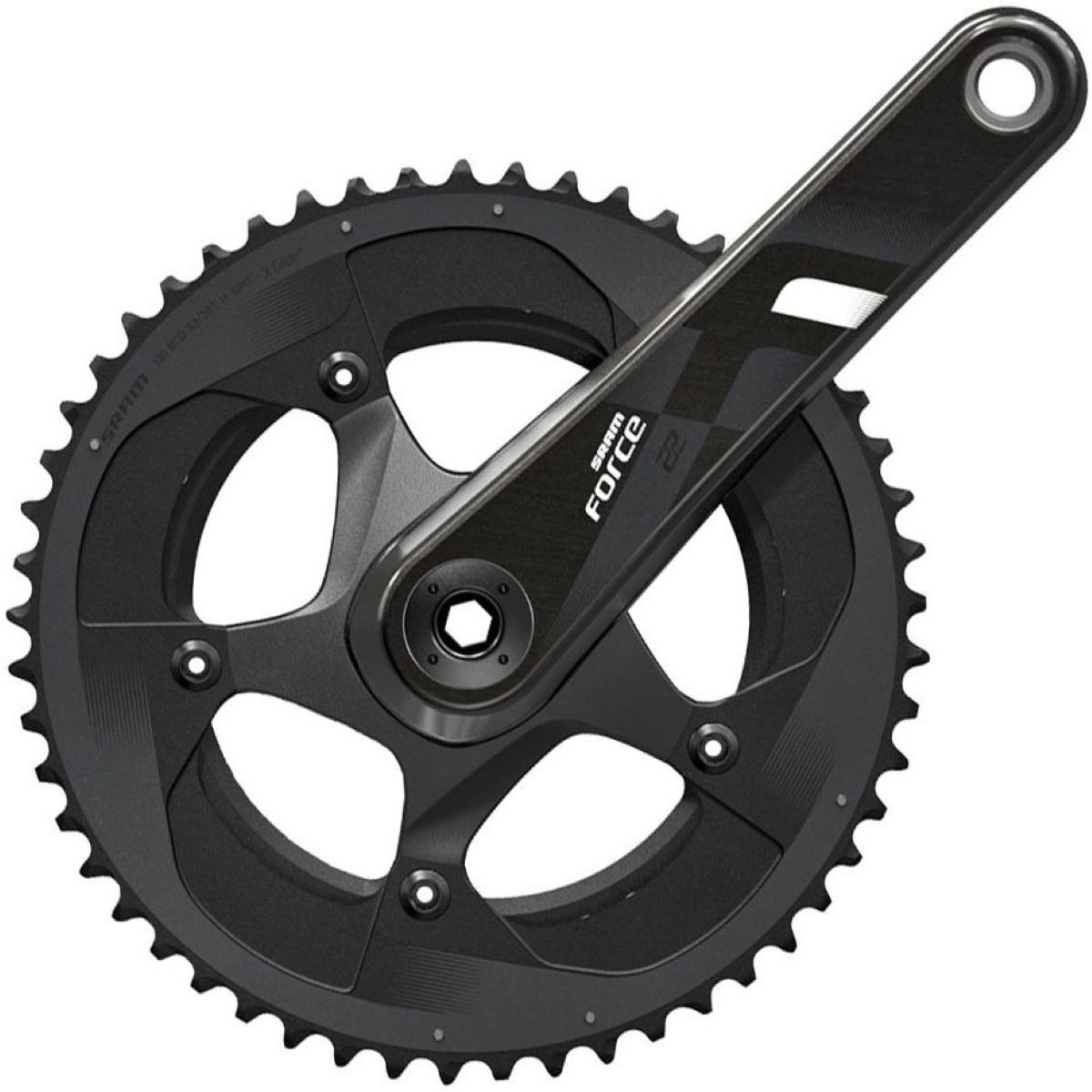 Sram Force 22 Gxp Double Chainset - 53/39t 172.5mm Black/grey