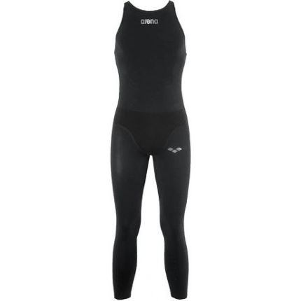 58cadd1f70599e View in 360° 360° Play video. 1. /. 1. Arena Men's Powerskin R-Evo FBLLC Open  Water Wetsuit