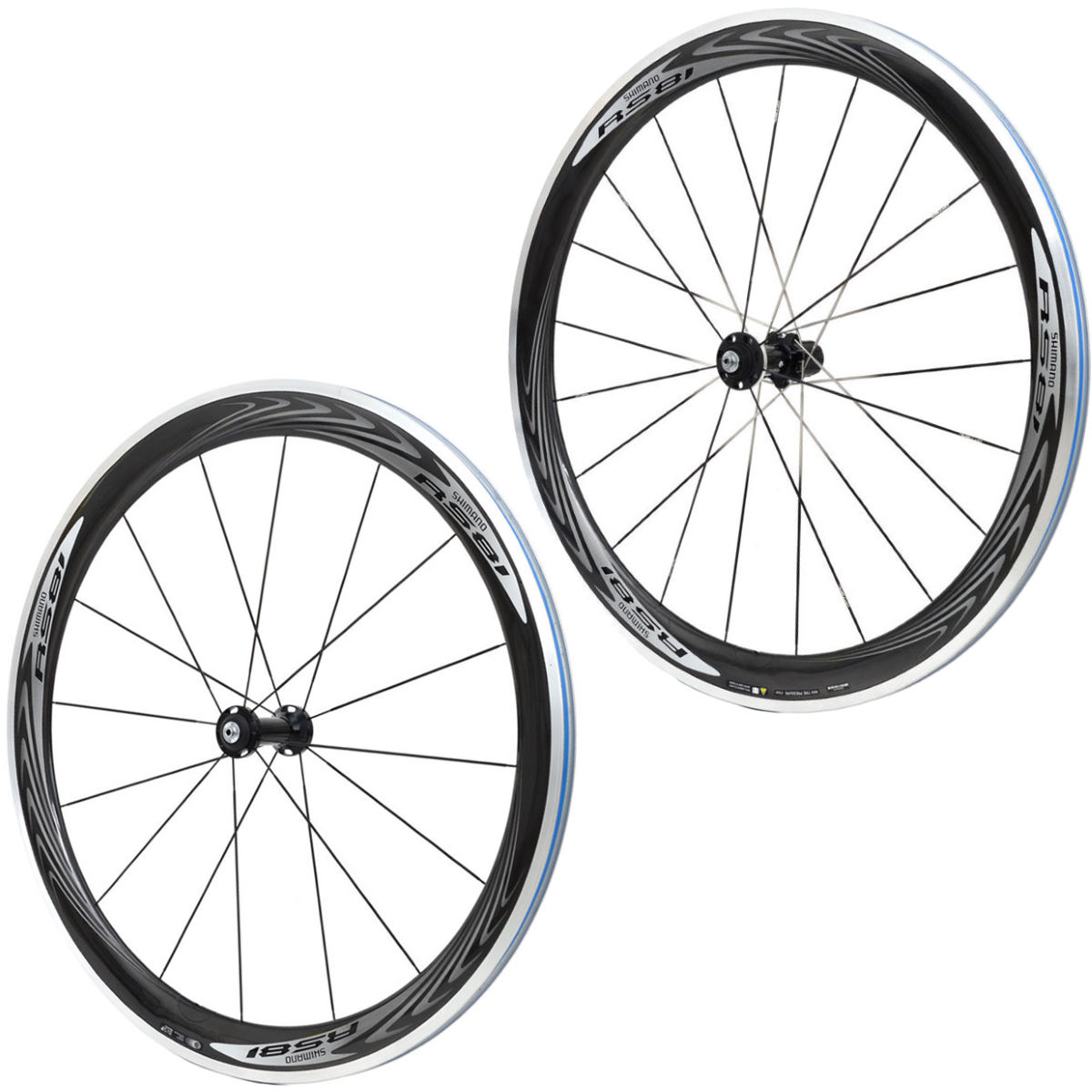 Shimano RS81 C50 Carbon Clincher Wheelset