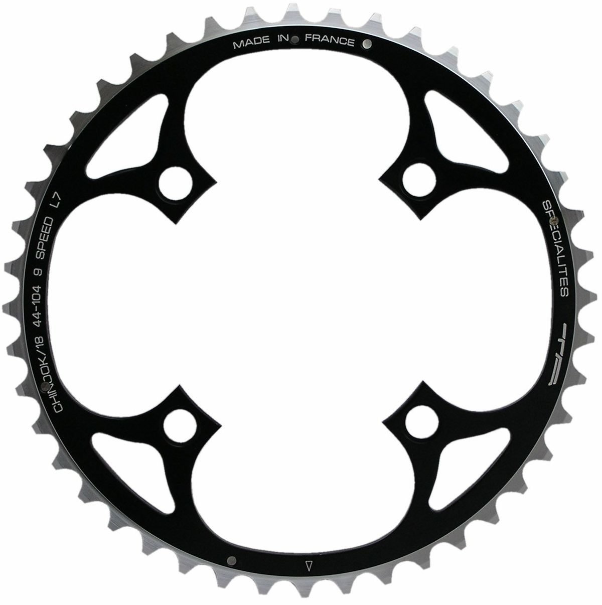 TA 104 PCD Chinook 4-Arm MTB Outer Chainring 48-50T | chainrings_component