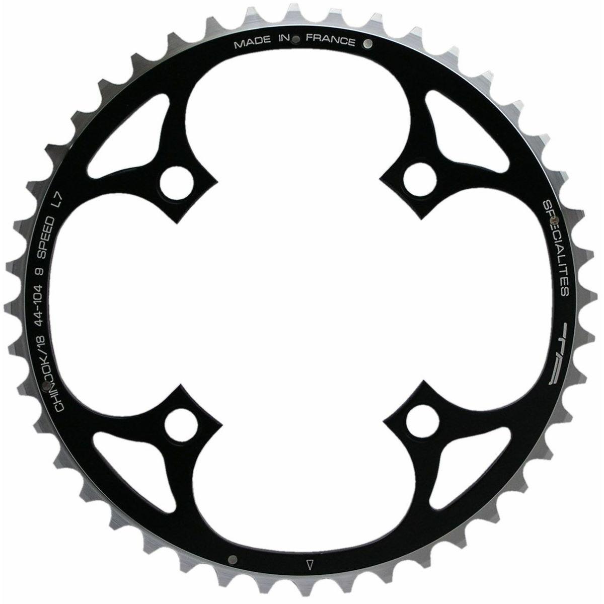 TA TA 104 PCD Chinook 4-Arm MTB Outer Chainring 48-50T   Chain Rings