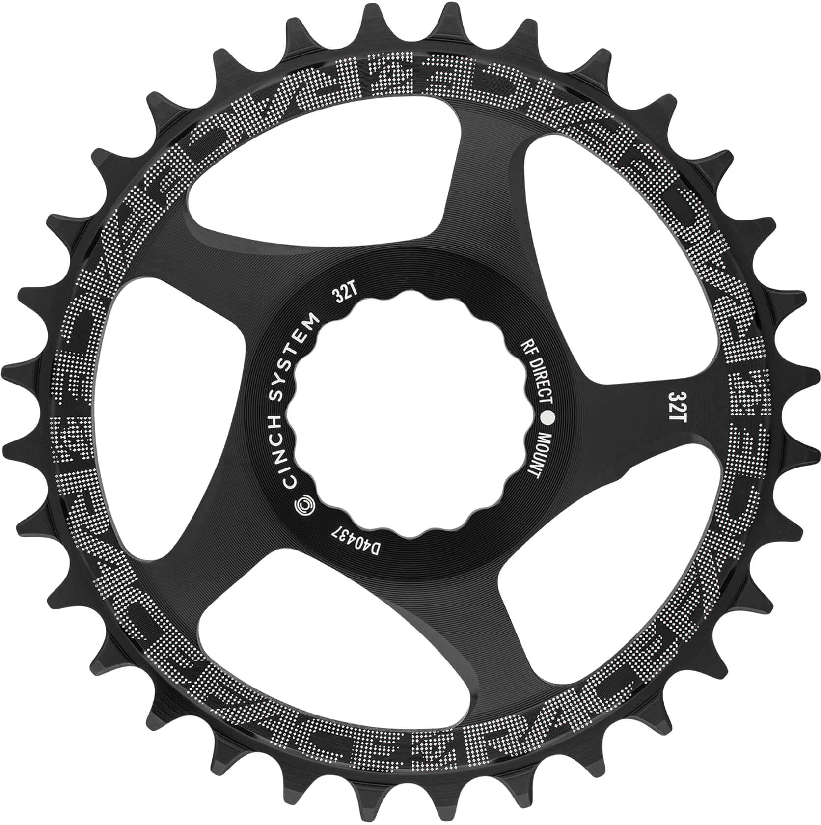 Direct Mount Cinch 36t Green RaceFace Narrow-Wide Chainring