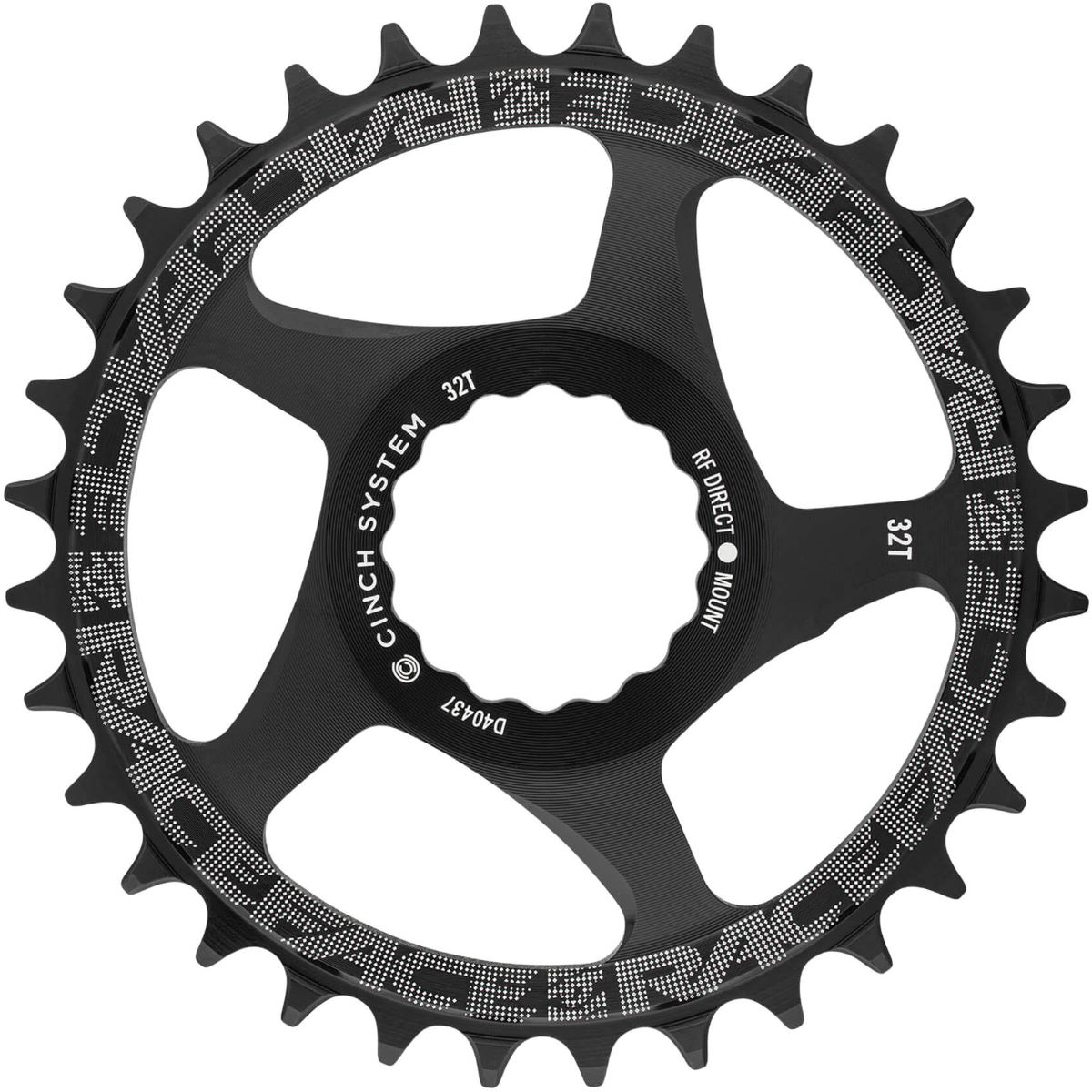 Race Face Cinch Narrow/wide Direct Mount Chainring - 26t Black