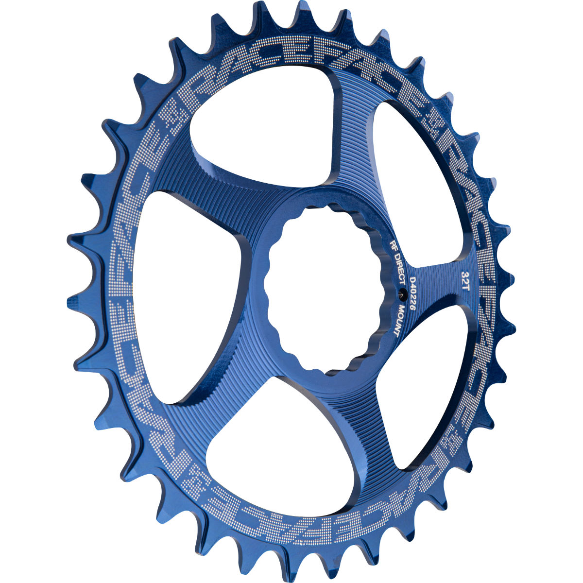 Race Face Cinch Narrow/wide Direct Mount Chainring - 34t Blue