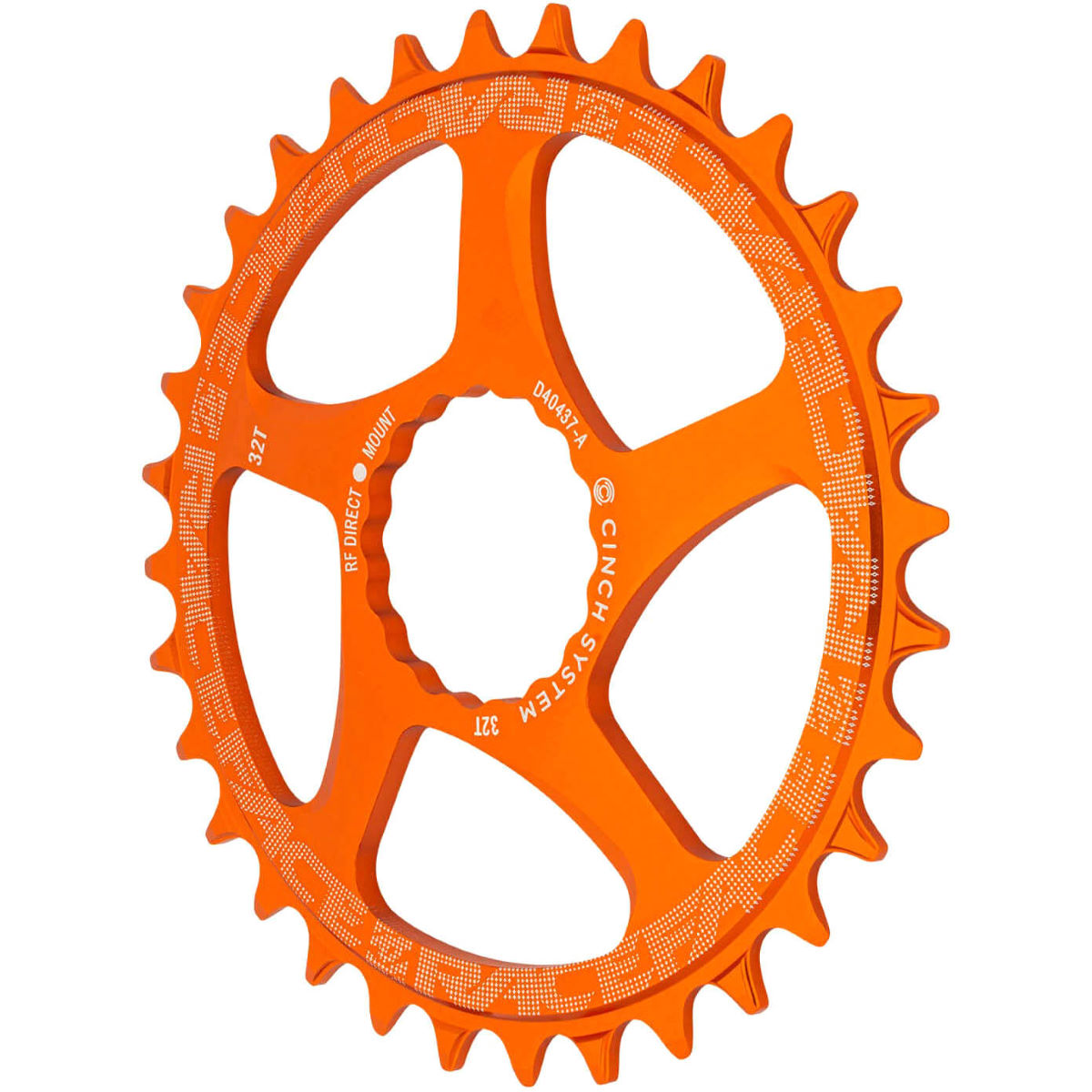 Race Face Cinch Narrow/wide Direct Mount Chainring - 36t Green