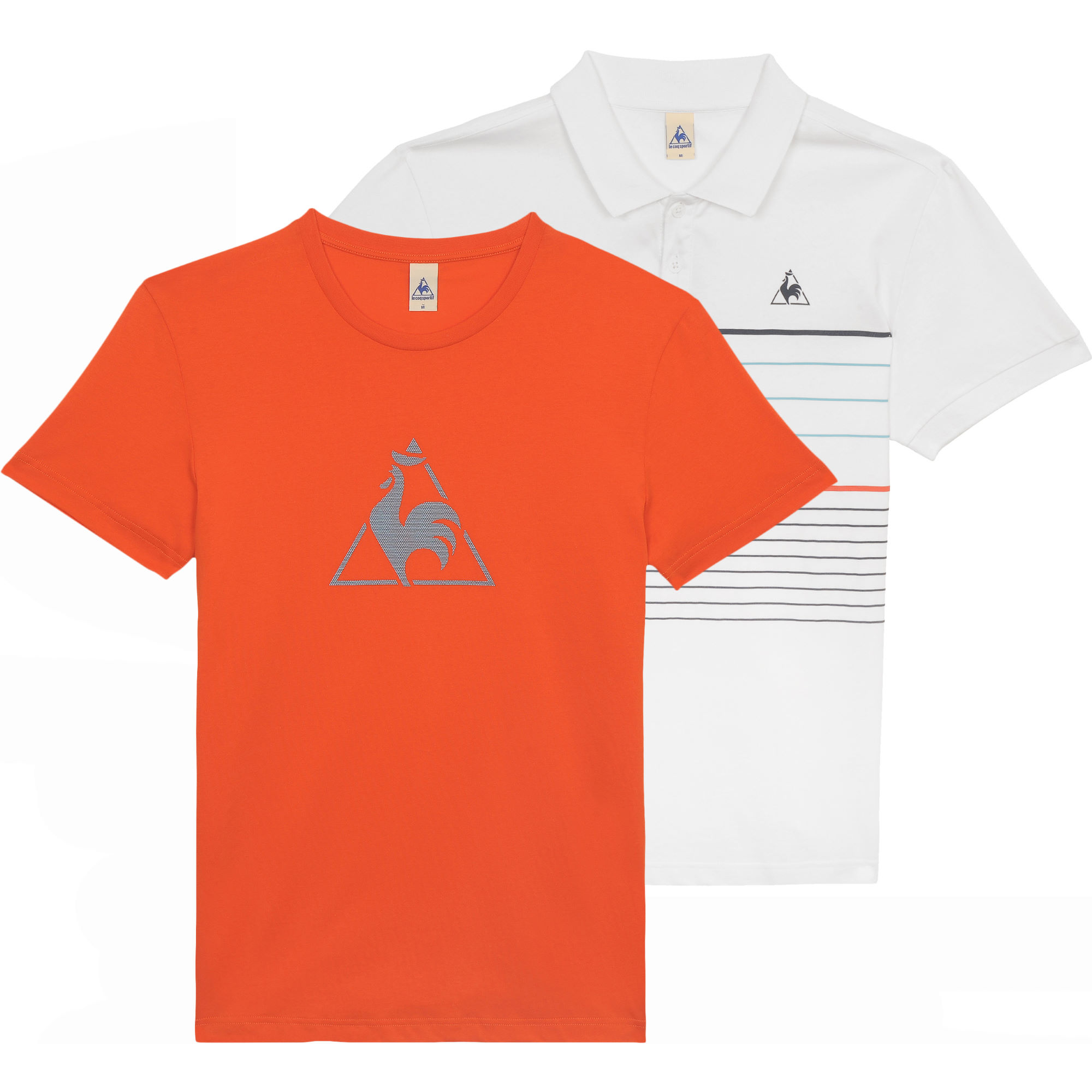 wiggle le coq sportif sarce polo shirt and chronic t shirt pack t shirts. Black Bedroom Furniture Sets. Home Design Ideas