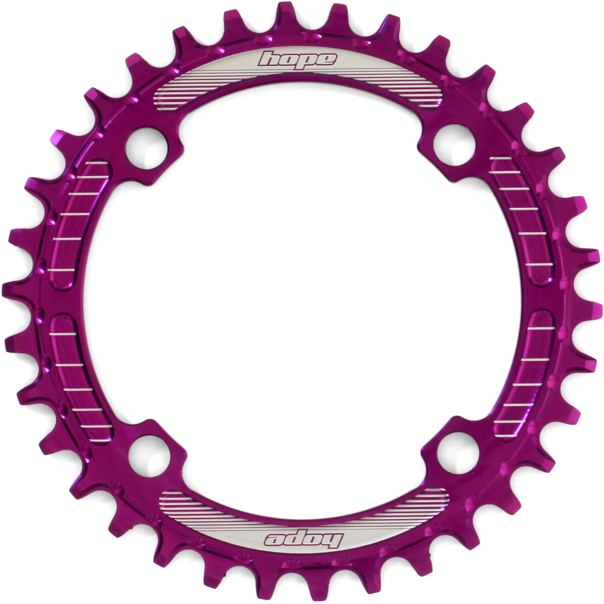 Hope Retainer Narrow/wide Chainring - 34t 104mm 9/10/11 Sp Purple