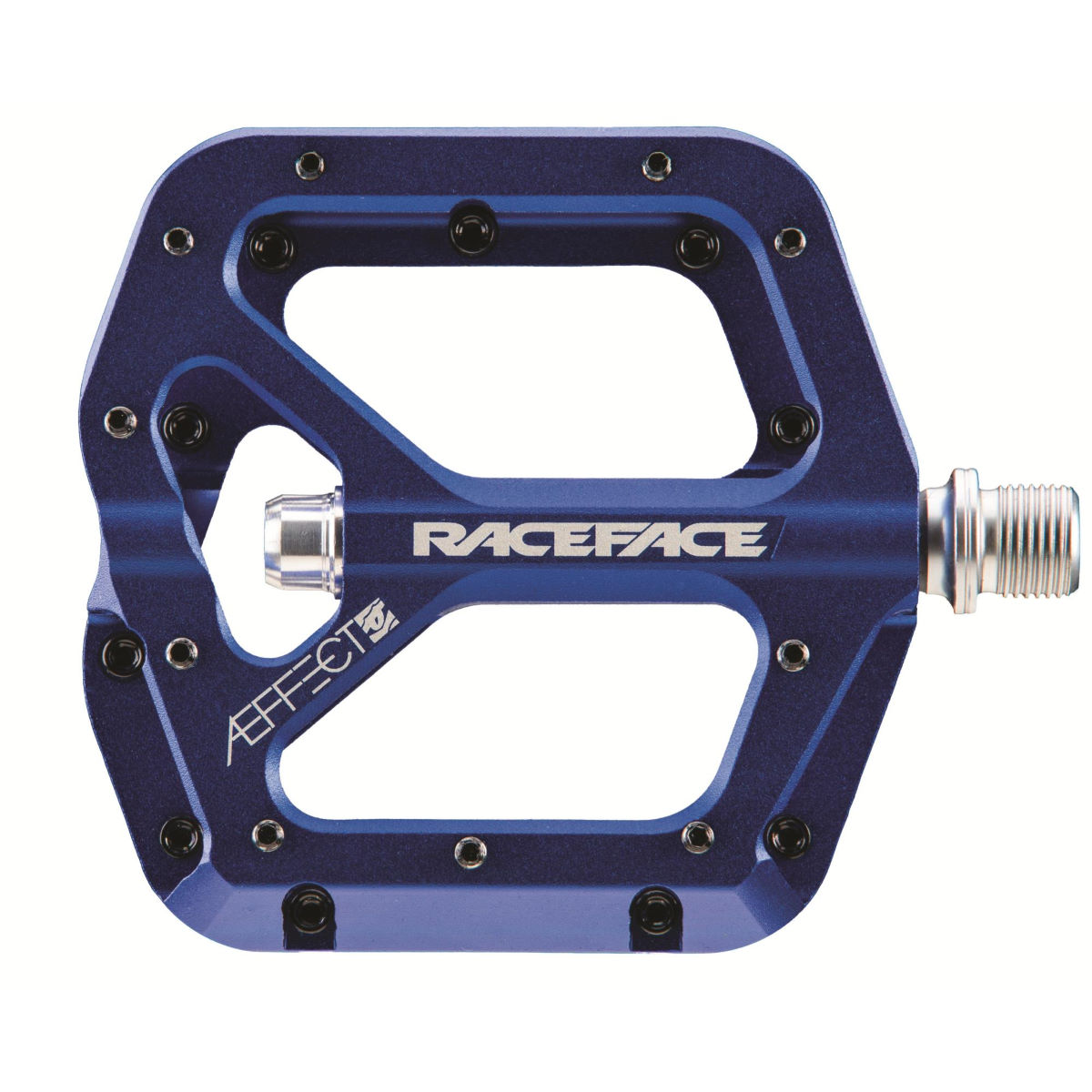 Race Face Aeffect Pedals - One Size Blue  Flat Pedals