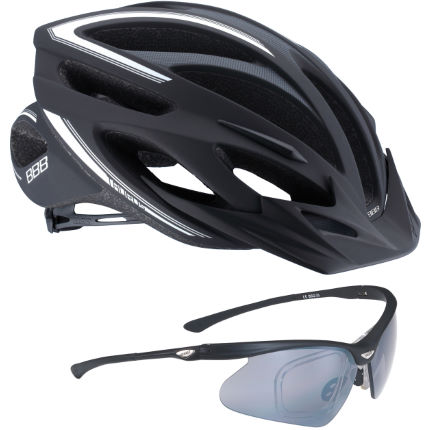 049afbec980c26 Internal   BBB   Black Taurus Helmet and Black OptiView Sunglasses ...