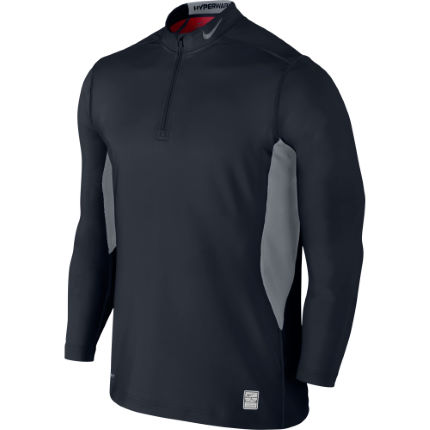 00373c51 View in 360° 360° Play video. 1. /. 1. The Nike Pro Combat Hyperwarm Dri-FIT  Max Quarter-Zip Fitted Men's Mock ...
