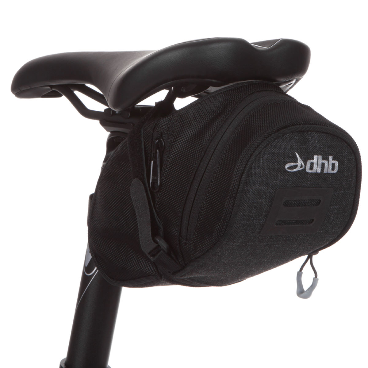 Dhb medium saddle bag saddle bags grey nu0158 1