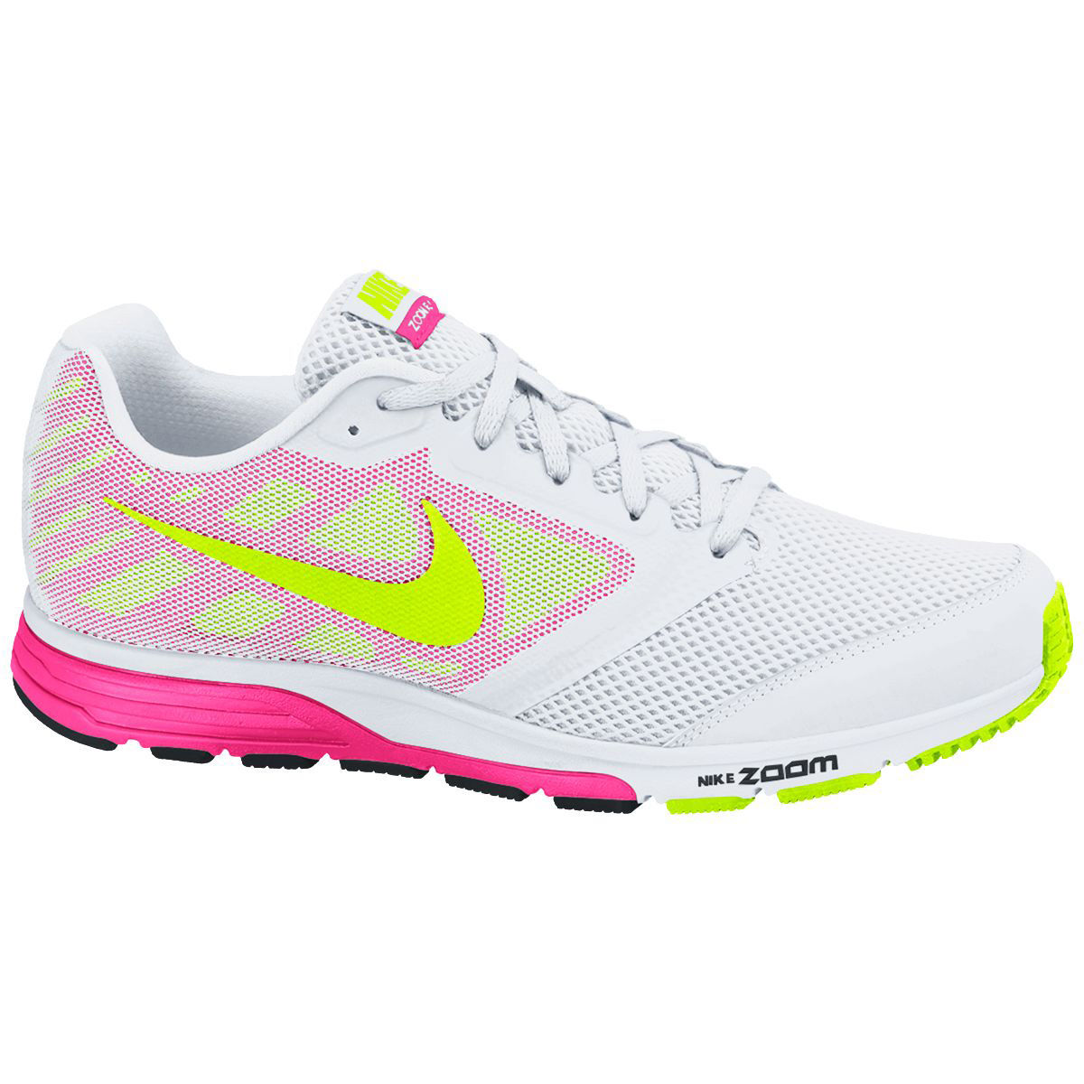 253f1a5926622 ... 707607 - Nike Womens Zoom Fly Shoes - FA14 New Running Shoes Neutral  Grey Volt Bright Cerise Pink Nike WMNS Air Zoom Fly 2 ...
