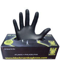 Gants datelier Black Mamba Nitrile Workshop (boîte de 100)