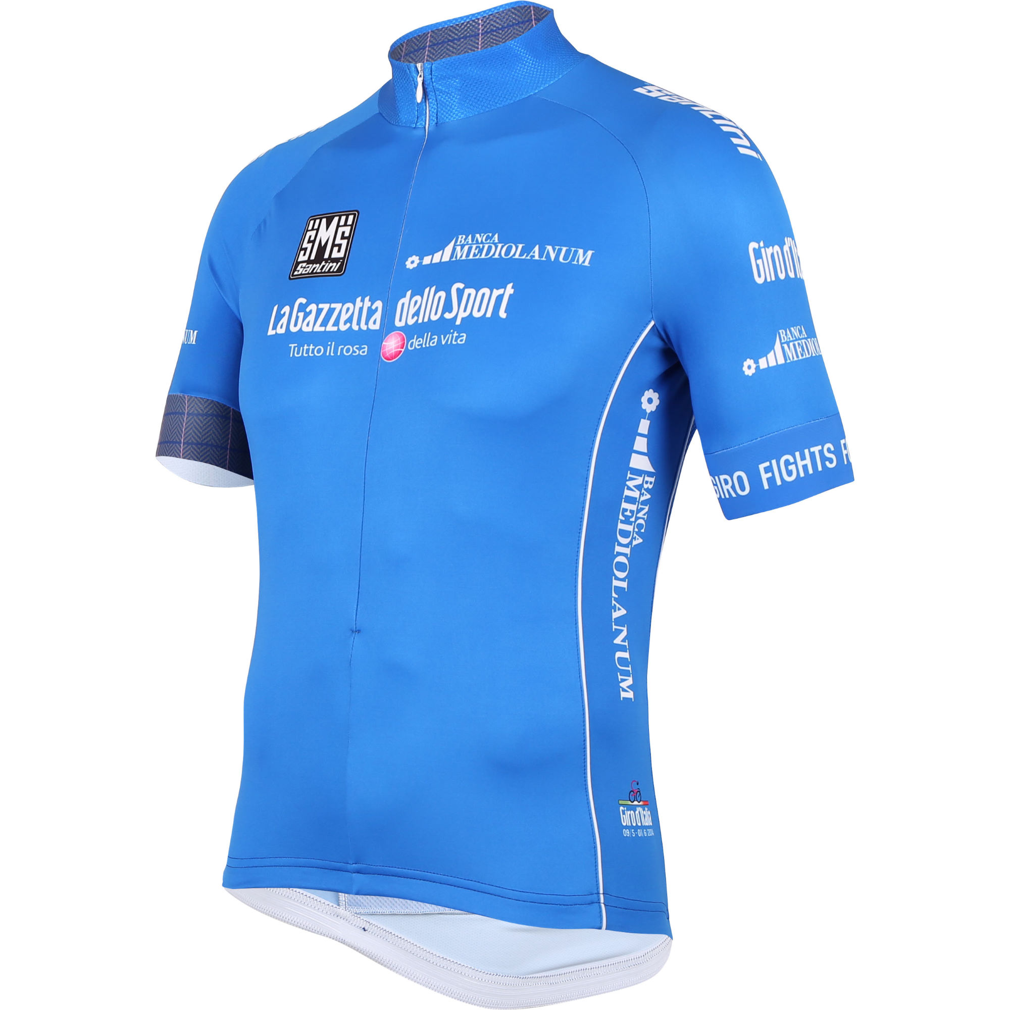 maillots des quipes pro santini giro d 39 italia king of the mountain jersey wiggle france. Black Bedroom Furniture Sets. Home Design Ideas