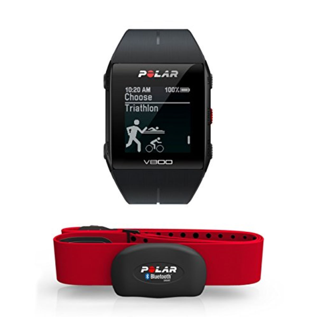 Sports watch with Polar heart rate monitor - V800 - GPS heart rate monitors