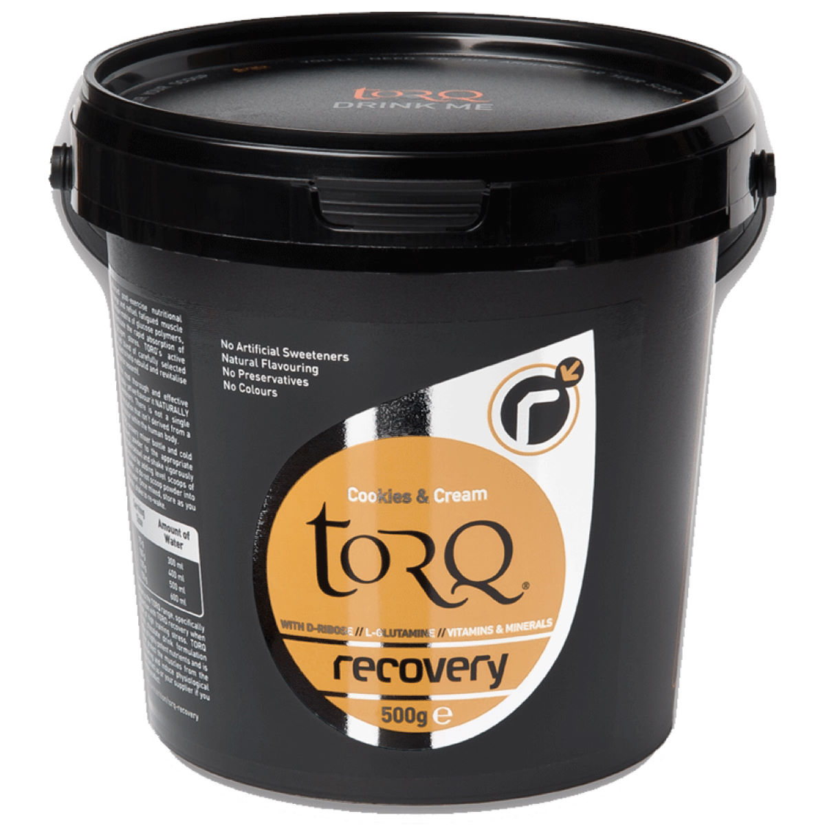 Image of Boisson de récupération Torq (500 g) - 500g Cookies and Cream