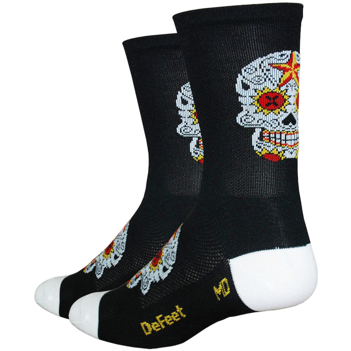 DeFeet DeFeet Aireator Tall Sugarskull Socks   Socks